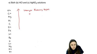Which of the following reactants will be capable of oxidizing copper metal to...