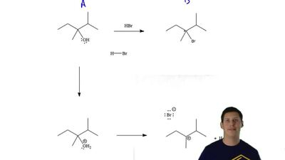 The following reaction has three mechanic steps. Draw all curved arrows necess...