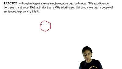 Although nitrogen is more electronegative than carbon, an NH2 substituent on ...