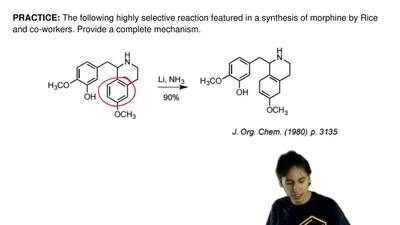 The following highly selective reaction featured in a synthesis of morphine by...