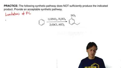 The following synthetic pathway does NOT sufficiently produce the indicated pr...