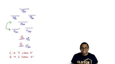 Use the molecular orbital diagram to figure out the electronic configuration f...
