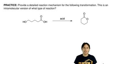 Provide a detailed reaction mechanism for the following transformation. This i...