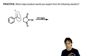What major product would you expect from the following reaction? ...