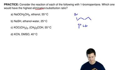 Consider the reaction of each of the following with 1-bromopentane. Which one ...