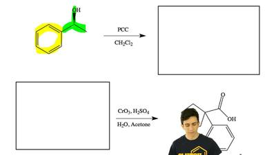 Draw the major organic product or reactant in the boxes provided for each reac...