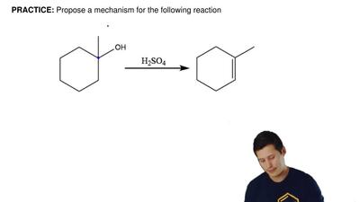 Propose a mechanism for the following reaction ...