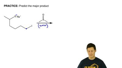 Predict the major product ...