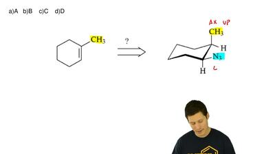Starting with 1-methylcyclohexene, which of the following reaction sequences i...