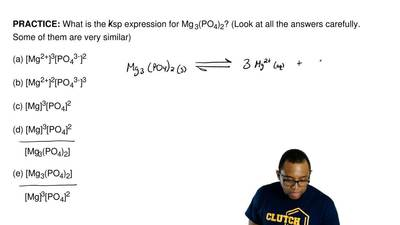 What is the ksp expression for Mg 3(PO4)2? (Look at all the answers carefully....