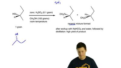 Draw a mechanism which explains the following result. Show all lone pairs, for...