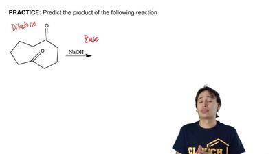 Predict the product of the following reaction ...