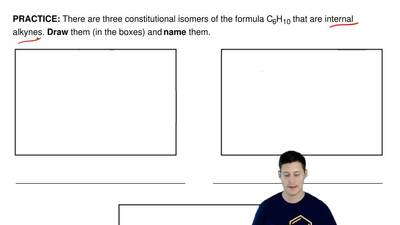 There are three constitutional isomers of the formula C 6H10 that are internal...