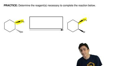 Determine the reagent(s) necessary to complete the reaction below.    ...
