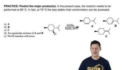 Predict the major product(s). In the present case, the reaction needs to be pe...