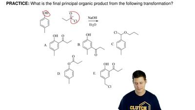 What is the final principal organic product from the following transformation?...