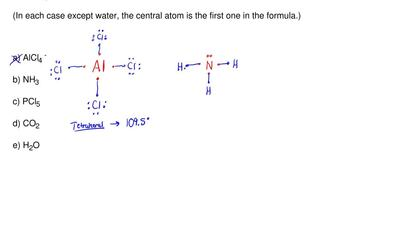 Which one of the following molecules and ions will definitely have at least on...