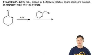 Predict the major product for the following reaction, paying attention to the ...