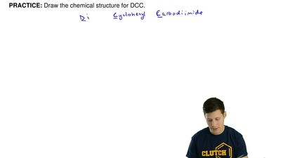 Draw the chemical structure forDCC. ...