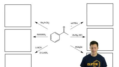 Provide the products for the following reactions. ...