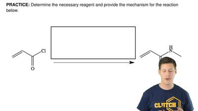 Determine the necessary reagent and provide the mechanism for the reaction bel...