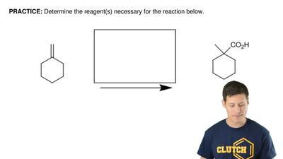 Determine the reagent(s) necessary for the reaction below. ...