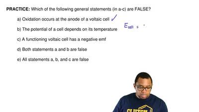 Which of the following general statements (in a‐c) are FALSE?  a) Oxidation oc...