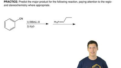 Predict the major product for the following reaction, payingattention to the ...