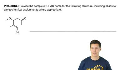Provide the complete IUPAC name for the following structure, including absolut...