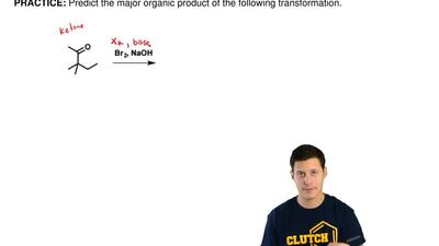 Predict the major organic product of the following transformation. ...