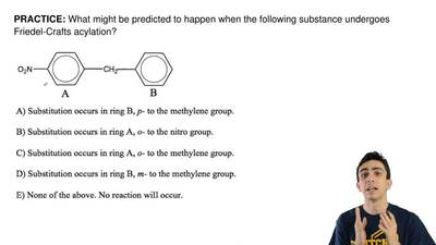 What might be predicted to happen when the following substance undergoes Fried...
