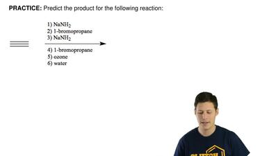 Predict the product for the following reaction: ...