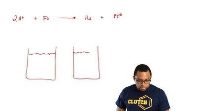 Sketch a voltaic cell for each redox reaction. Label the anode and cathode and...