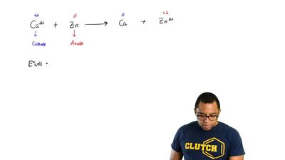 Determine whether or not each redox reaction occurs spontaneously in the forwa...