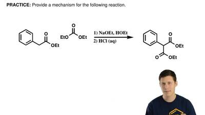 Provide a mechanism for the following reaction.    ...