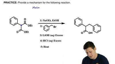 Provide a mechanismfor the followingreaction.   ...