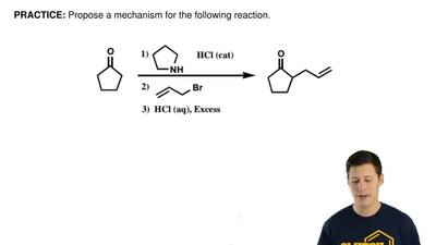 Propose amechanismfor the following reaction. ...