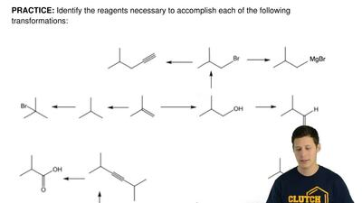 Identify the reagents necessary to accomplish each of the following transforma...