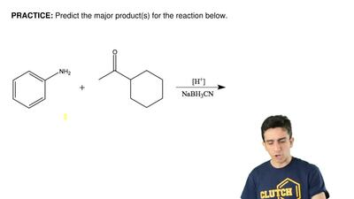 Predict the major product(s) for the reaction below.   ...