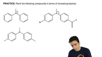 Rank the following compounds in terms of increasing basicity: ...