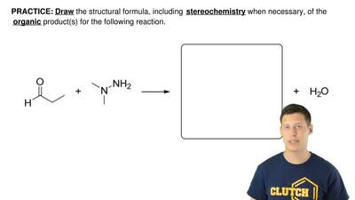 Draw the structural formula, including  stereochemistry when necessary, of the...
