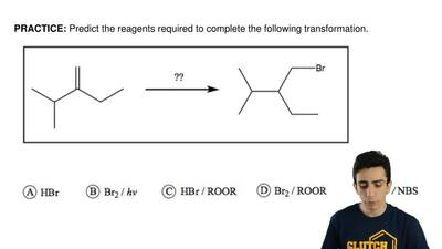 Predict the reagents required to complete the following transformation.  ...